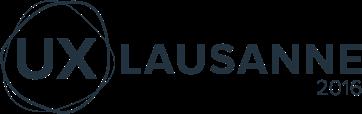Logo UX Lausanne 2016
